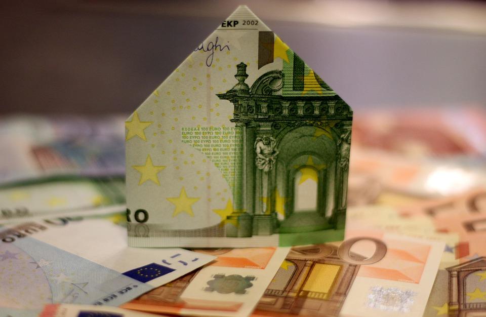 nemovitost z bankovky