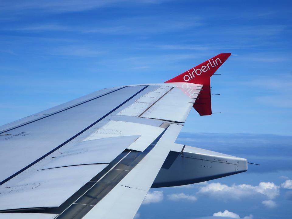 pohled na křídlo