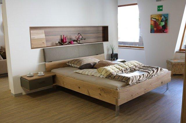 prostor pro spaní